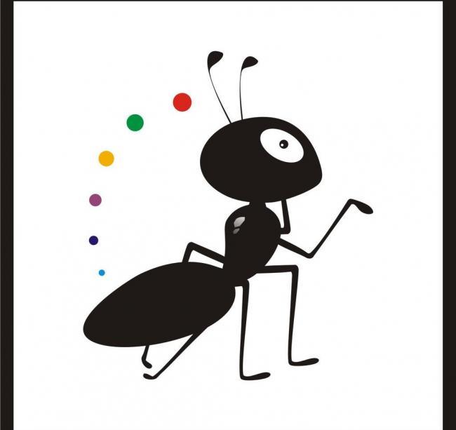 蚂蚁。。什么也没有说。。